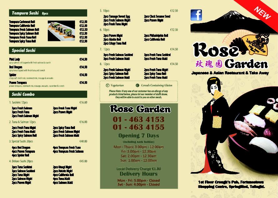 Rose Garden Japanese-A